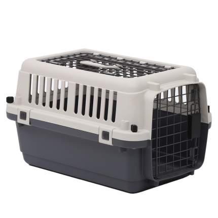 Переноска для кошек и собак Departures Range 56х37х33 см, серый, белый
