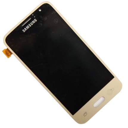 Дисплей для Samsung SM-J120F (Galaxy J1 2016) в сборе с тачскрином (4.3 TFT), золотой