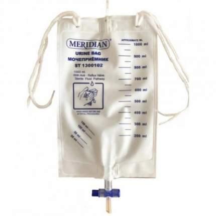 Мочеприемник Меридиан стандартный прикроватный 1000 мл ST1300102