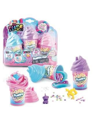 Набор для изготовления воздушного слайма Fluffy, в комплекте 3 слайма Canal Toys