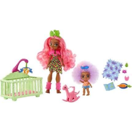 Игровой набор Cave Club Mattel Няня GNL92, с двумя куклами