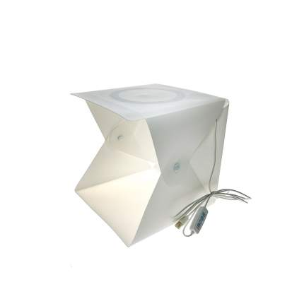 Лайт куб ELC20 Espada 23x21x23см для предметной фотосъёмки со светодиодной подсветкой