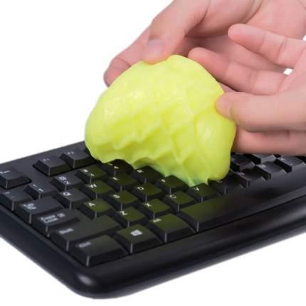 Силиконовый очиститель для клавиатуры HRS Colorcoral Yellow