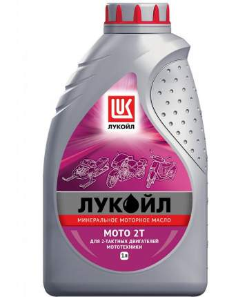 Моторное масло Lukoil Мото 2T 10w-40 1л