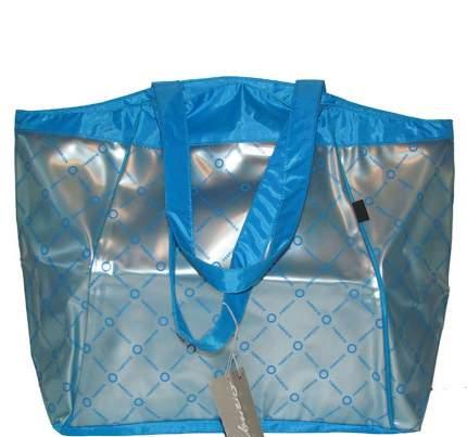 Пляжная сумка Fabrizio 7941 голубая
