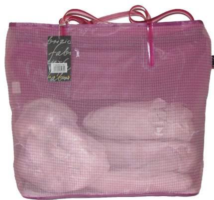 Пляжная сумка Fabrizio 7917 розовая