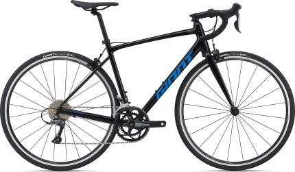 Шоссейный велосипед GIANT Contend 3 2021, цвет Black, рама S