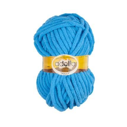 Пряжа Adelia Dolly, 100% полиэстер, 5*100 г, 40 м+-3 м, №11, ярко-голубой