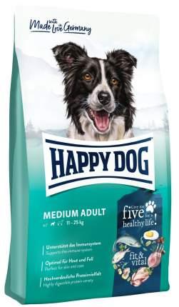 Сухой корм для собак Happy DogFit&Vital Medium Adult, птица, 1кг