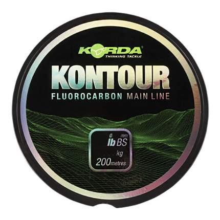 Леска тонущая Korda Kontour Fluorcarbon 18lb KFLU03
