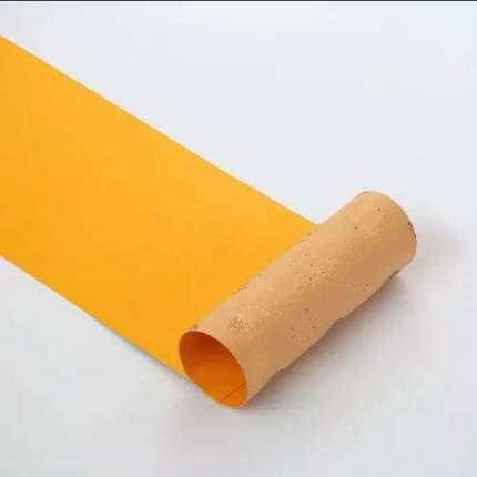 Шкурка для скейта GRIPTAPE, размер 30см х 85см, цвет желтый