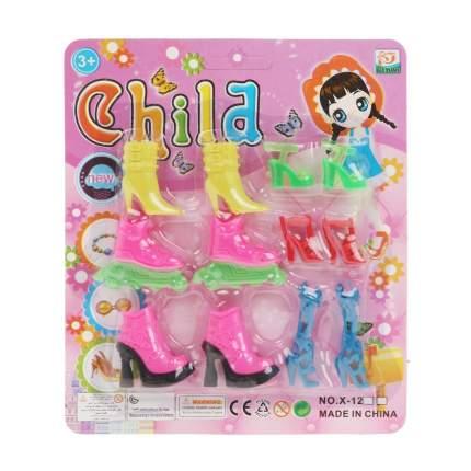 Набор обуви для кукол, 6 пар, арт. 200426960 Наша Игрушка