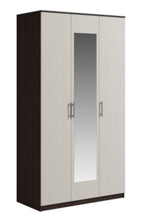 Шкаф для одежды Genesis Svetlana 3-х дверный Дуб молочный  Венге