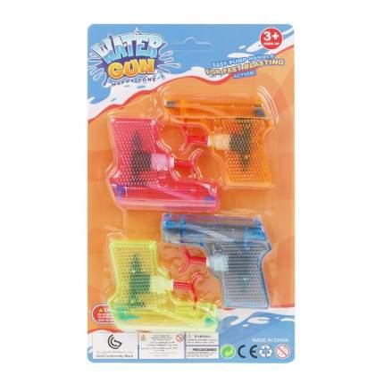 Пистолет водяной 9 см, 4 штуки, арт. 004D Наша Игрушка