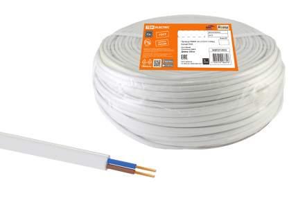 Провод TDM ELECTRIC ПГВВП 2х1,5 ГОСТ (100м), белый SQ0127-0552
