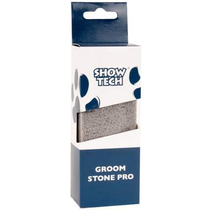 Камень для тримминга для кошек,собак, птиц Show Tech 13x5x3,5 см, серый