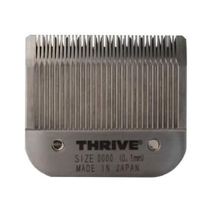 Сменный нож Thrive 1 мм с частыми зубчиками, стандарт А5, сталь, серый
