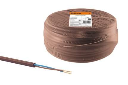 "Провод TDM ELECTRIC ПВС 2х1,5 ГОСТ (50м), коричневый ""ЭКО"" SQ0119-0054"