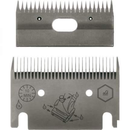 Ножевая пара Liscop LC 122 для стрижки лошадей, 1 мм, металл, серый