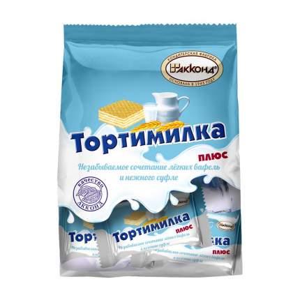 Вафли Тортимилка плюс десерт 200 гр. Акконд/Вкус знакомый с детства