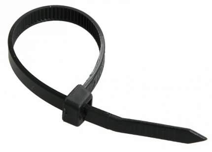 Хомут пластиковый черный 2,5х100 (уп. 100 шт)