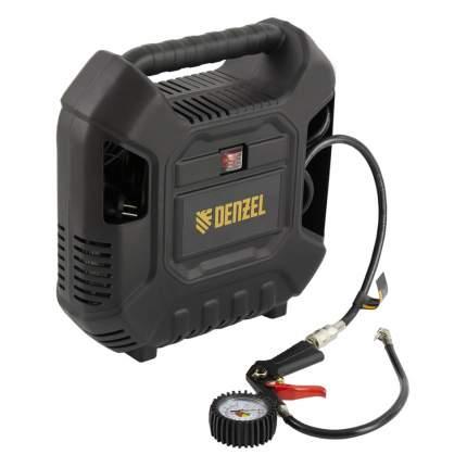 Поршневой компрессор DL1100 1.1 кВт Denzel, 58005, 180 л/мин, с набором аксессуаров