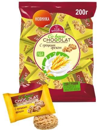 Конфеты мультизлаковые с грецким орехом с белой глазурью 200г/Вкус знакомый с детства.