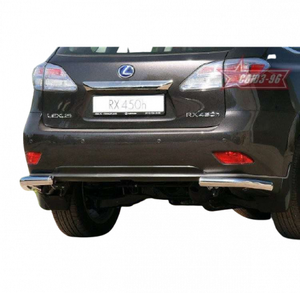 "Защита заднего бампера d60 уголки ""Lexus RX 350"" 2009-, LXRX.76.0816"