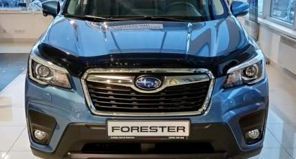 Дефлектор капота темный SUBARU Forester 2018- SIM NLD.SSUFOR1812