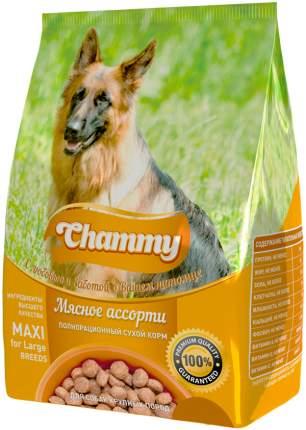 Сухой корм для собак Chammy, для крупных пород с мясным ассорти,  18кг