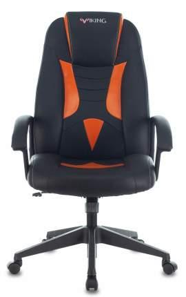 Кресло игровое ZOMBIE VIKING-8 черный/оранжевый