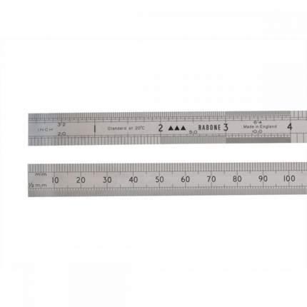 Линейка из нержавеющей стали STANLEY 0-35-433, 2-сторонняя 4-шкальная 300 мм/12 м/е