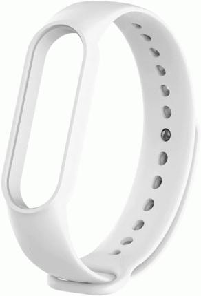 Сменный ремешок Xiaomi Silicon Strap для Mi Band 5 (White)