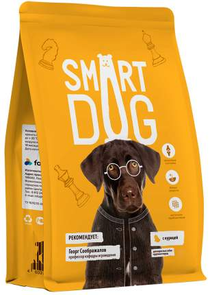 Сухой корм для собак Smart Dog, курица,  18кг
