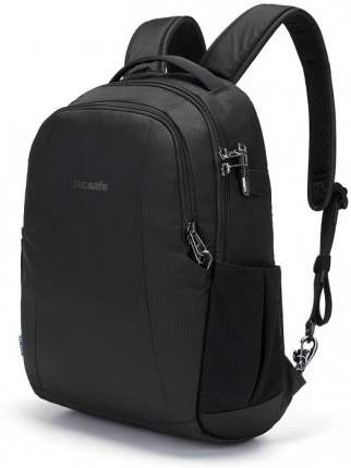 """Рюкзак мужской Pacsafe Metrosafe LS350 Econyl (40120138) для ноутбука 13"""" (Black)"""