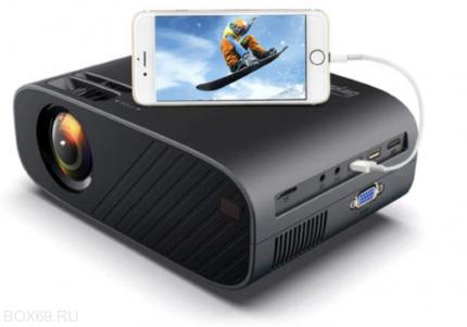 Видеопроектор Everycom M7A 720P Black