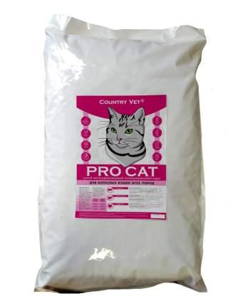 Сухой корм для кошек Country Vet Pro Cat, мясо,  7кг