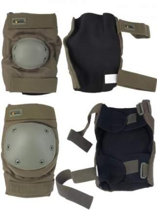 Комплект: Налокотники и Наколенники Gongtex Tactical Protection цвет Олива