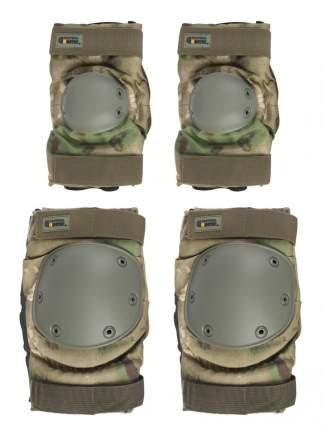 Налокотники и Наколенники Gongtex Tactical Protection  цвет Атакс Мох