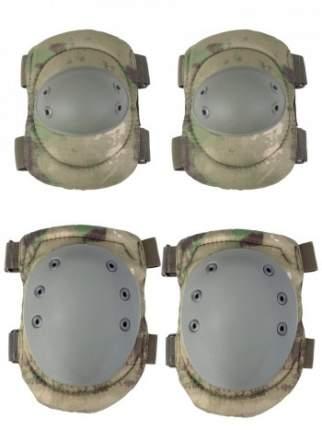 Комплект: Налокотники и Наколенники Gongtex Tactical Protection цвет Атакс Мох