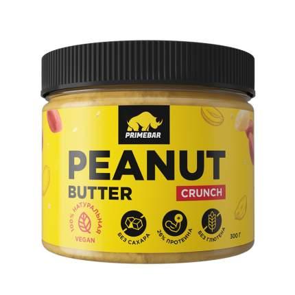 Арахисовая паста Prime-Kraft PrimeBar Peanut Butter, 300 грамм, хрустящая