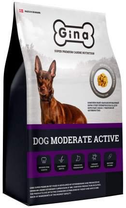 Сухой корм для собак GINA Dog Moderate Active , курица, рис, 18кг