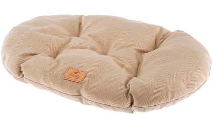 Коврик для кошек, для собак Ferplast Stuart 78/8 велюр, текстиль, бежевый, 78x50 см