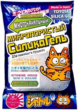 Комкующийся наполнитель для кошек Japan Premium Pet силикагелевый, 1.75 кг, 3.6 л,