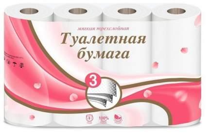Туалетная бумага VEIRO 3сл. 8шт. Белая