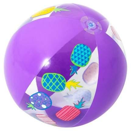 Мяч пляжный Bestway дизайнерский фиолетовый, 51 см