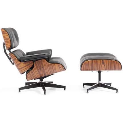 Кресло Bradex Home EAMES LOUNGE CHAIR чёрная FR 0016-17