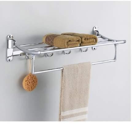 Вешалка для полотенца с полкой складная ST ЛЮКС S1108 Santrade 3593