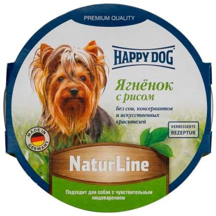 Влажный корм для собак Happy Dog NaturLine , ягненок, рис, 11шт, 85г
