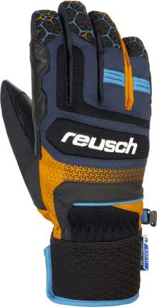 Перчатки Reusch Stuart R-Tex Xt Dress Blue/Orange Popsicle Inch 8,5